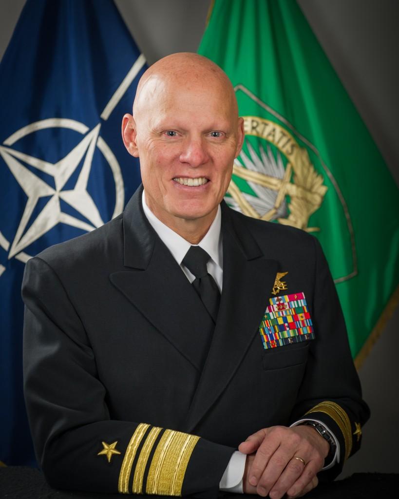 Portrait of COM NSHQ, NSHQ SEA  (NATO photo/Sgt. Emily Langer, DEU Army)