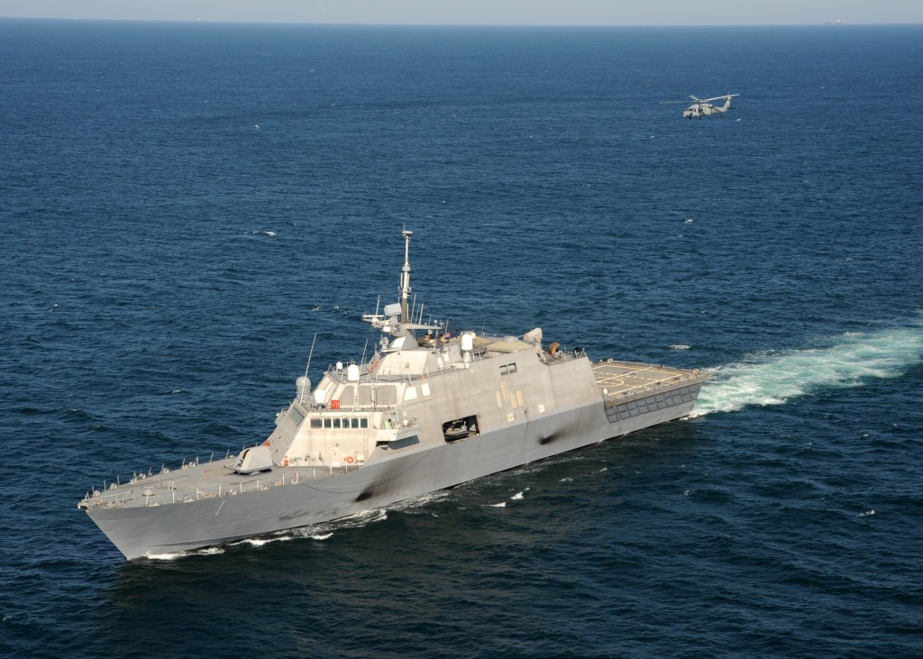 LCS Unmanned anti-mine ships