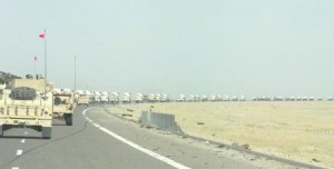 A fuel convoy in Iraq in 2005. (Army)