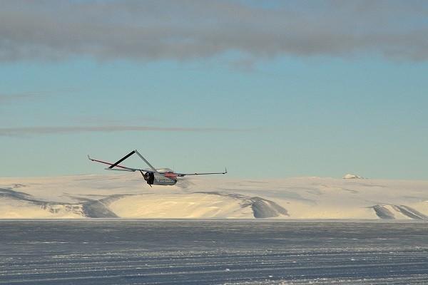 UAV Aerosonde Antartica