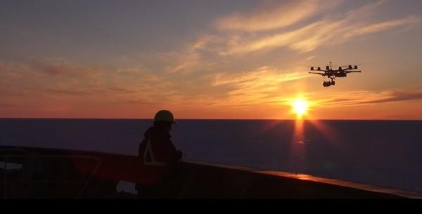 drone UAV Arctic Fednav quadcopter