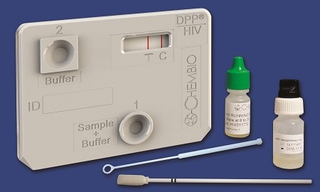 Chembio ebola test kit DPP technology